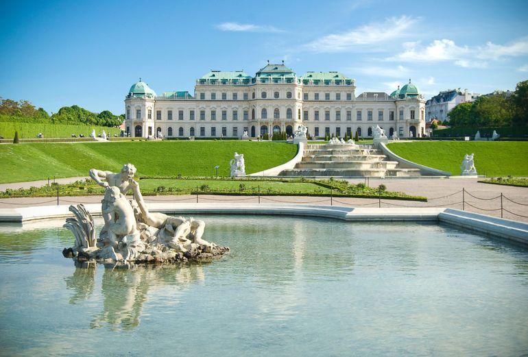 Belvedere Palace Vienna Austria Day Trips From Prague Prague Tours Day Trip