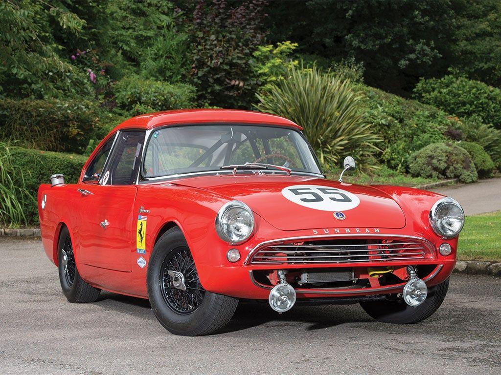 1961 Sunbeam Alpine race car Sunbeam, British cars, Ferrari