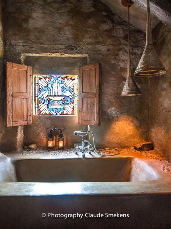 Tadelakt for Sink Bath and Floor