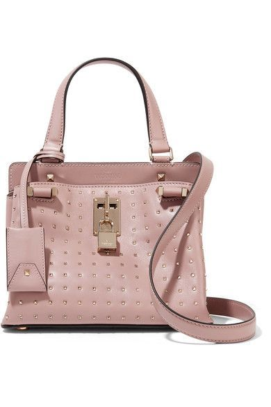 06d2b2583a9b0 Valentino. Rockstud Piper studded leather shoulder bag