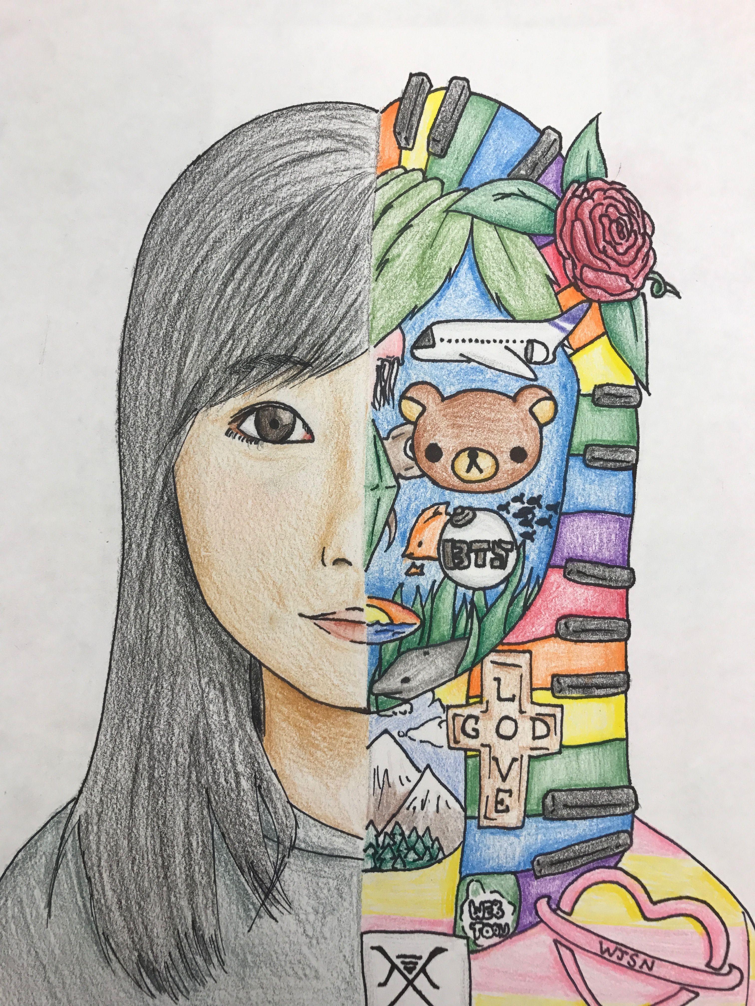 Art Unit Ideas Drawing Middle School