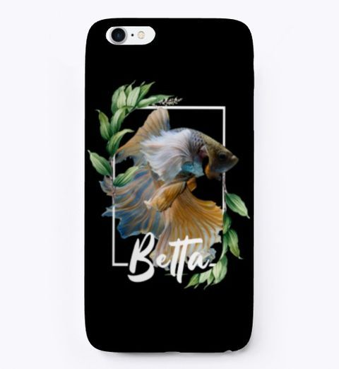 Betta Fish iPhone Case #junglepattern Do you love betta fish or do you own a pet betta fish? This floral jungle pattern design makes the perfect t shirt or wall art for you. This design features on many products so be sure to check them out. This makes the perfect gift idea for any fish keeper or anyone who loves tropical fish. #junglepattern