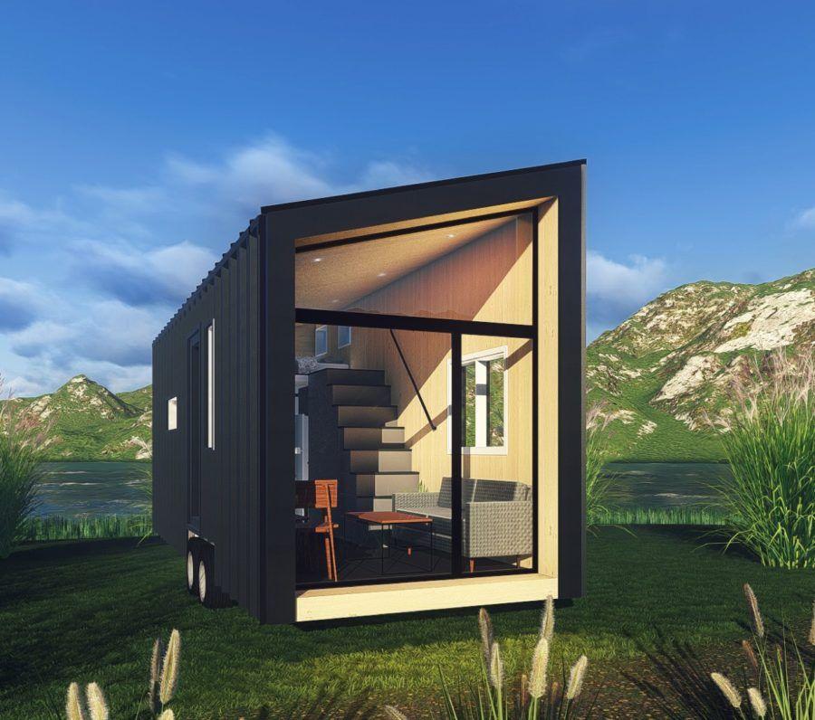 Budget Tiny House By New Frontier Tiny Homes Tiny House Tiny