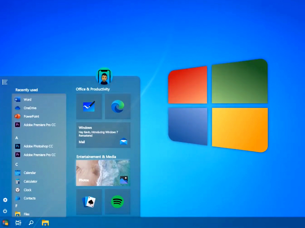Windows 7 Returns With The Stunning 2020 Edition In 2020 New Tablets Windows Design Language