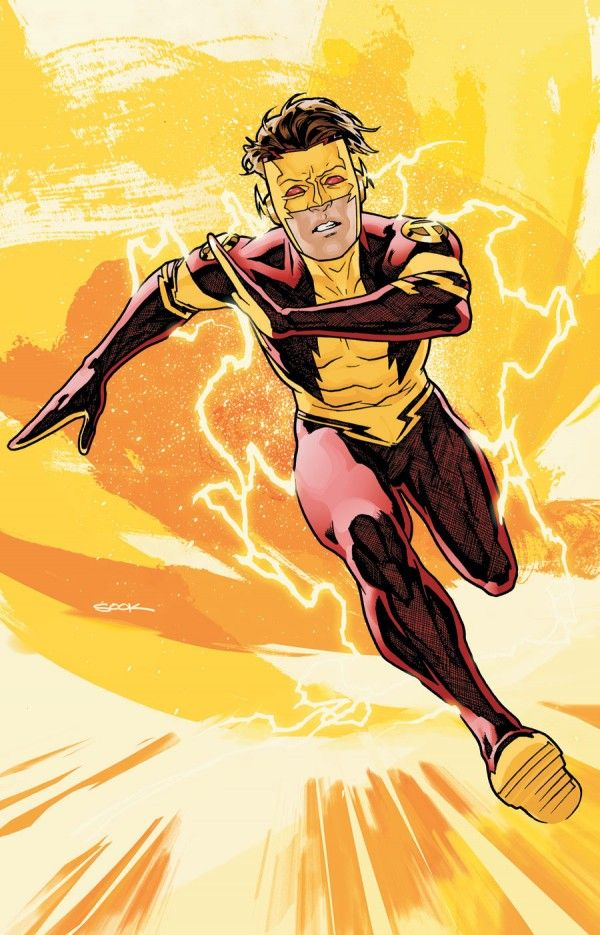 DC's New Kid Flash!