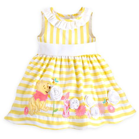 0d12f71e27bd Winnie the Pooh and Piglet Dress for Baby