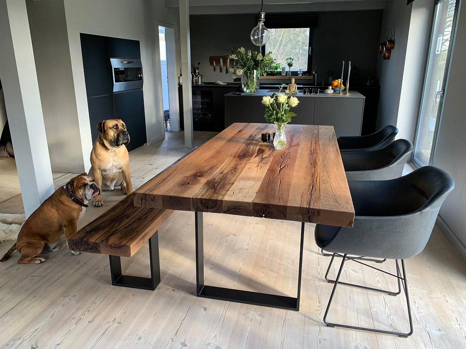 Massivholztisch Esstisch Holztisch Tisch auf Maß www.holzwerk