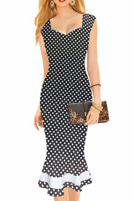 Aimishi Christy Vintage Dress In Black Bodycon Dress Vintage Dresses Fashion [ 1440 x 960 Pixel ]