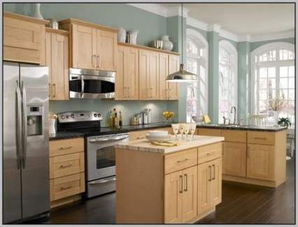 39 Ideas kitchen wall ideas colors lights for 2019 | Maple ...