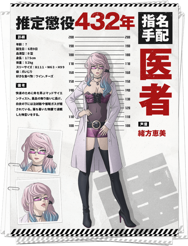 Character Profiles With Ages And Heights Akudamadrive In 2021 Anime Anime Characters Pink Hair Anime