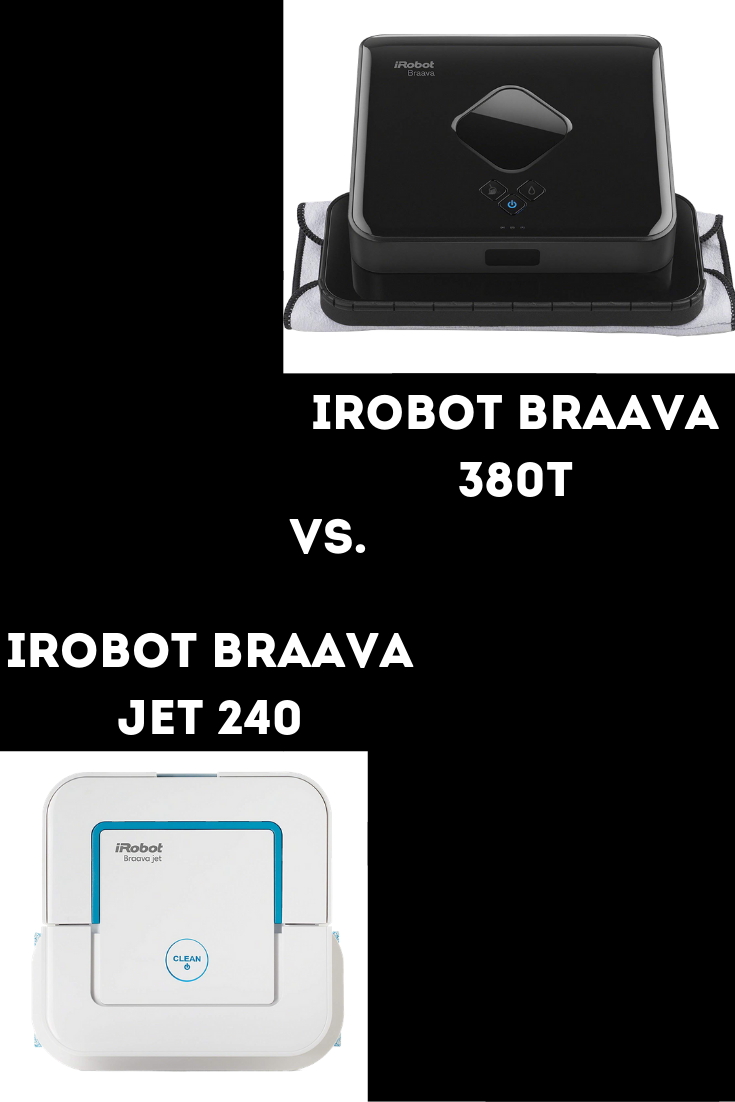 Braava 240 Vs 380t Comparison Review Better Cleaning Tough Stain Irobot