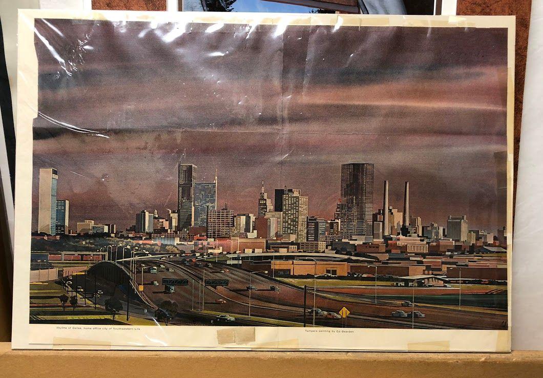 Vintage Dallas Print $29 Bonrics Custom Framing and Gallery Located ...