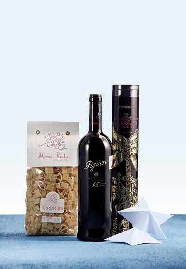 Vino Figuero, Pasta Cuoricino, Biscuits Fortnum & Mason - Gourmet - El Palacio de Hierro