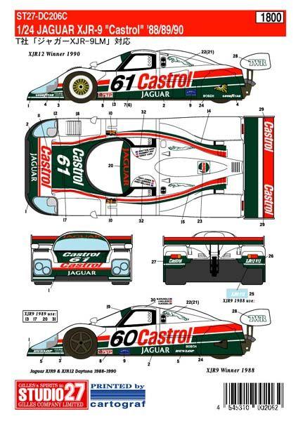Jaguar xjr 9 racing car blueprint pinterest cars le mans jaguar xjr 9 malvernweather Choice Image