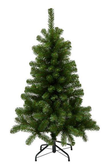 Weihnachtsbaum aus Kunststoff in Grün - für ein festliches Ambiente