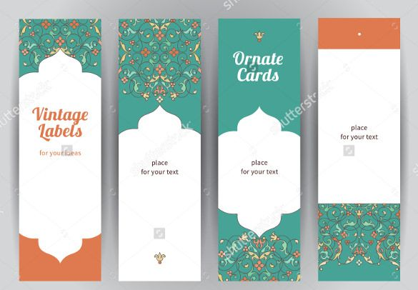 Blank Bookmark Template - 135+ Free PSD, AI, EPS, Word, PDF Format - blank bookmark template