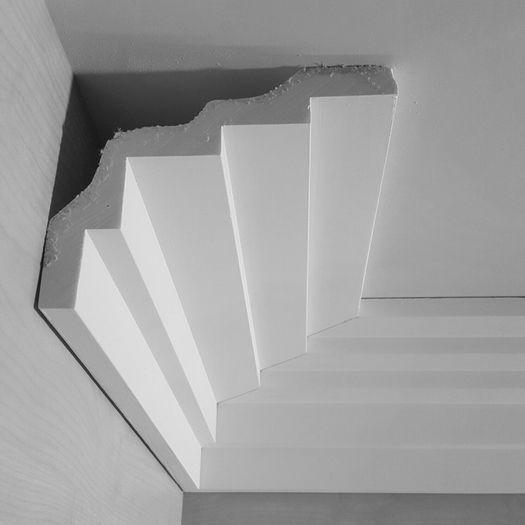 Dm1931 Modern Stepped Ing Plaster Art Deco Cornice Five Step