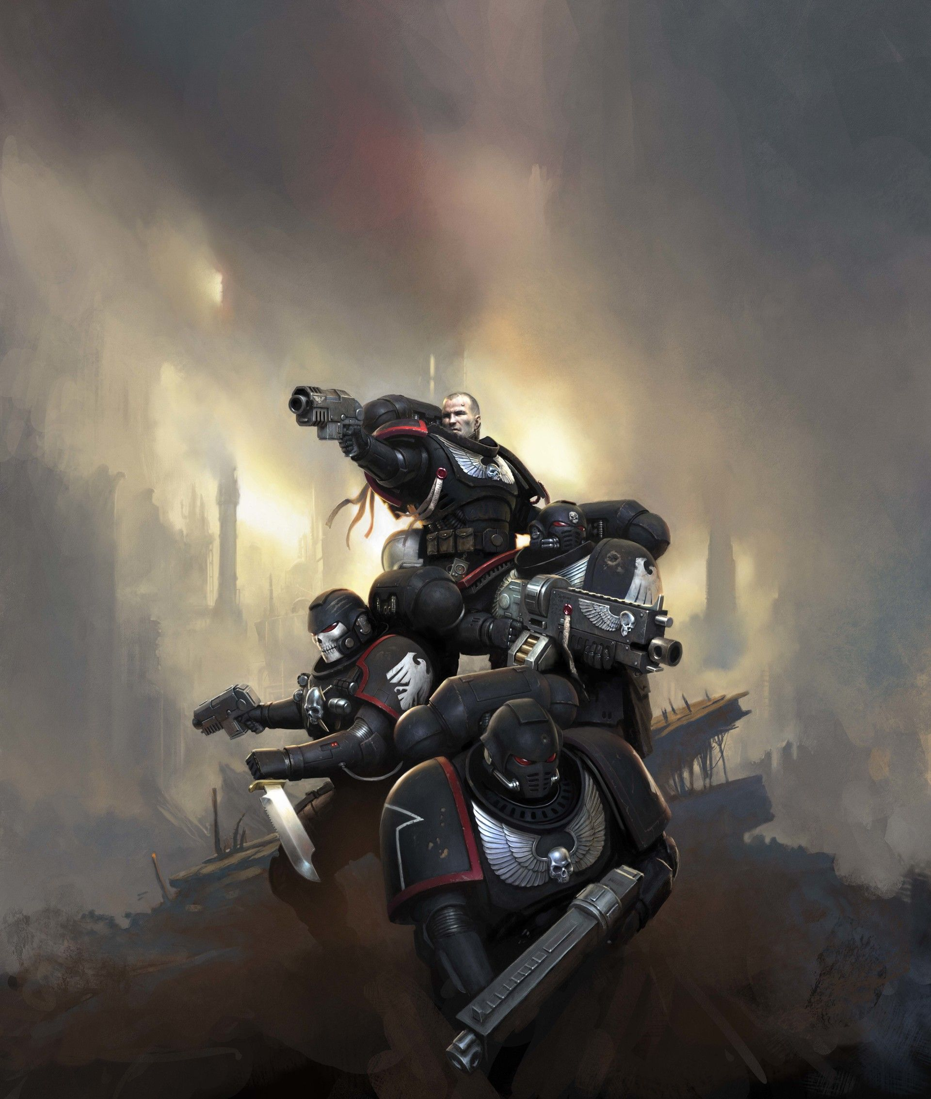 Warhammer 40k: Kill Team Cover, Mark Holmes