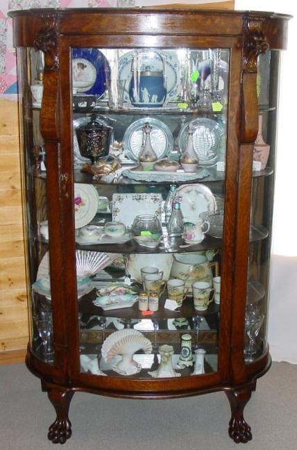 Gentil This Very Elegant China Cabinet Is In Completely Original Condition.  Dimensions Of This Fine China. Vintage ...