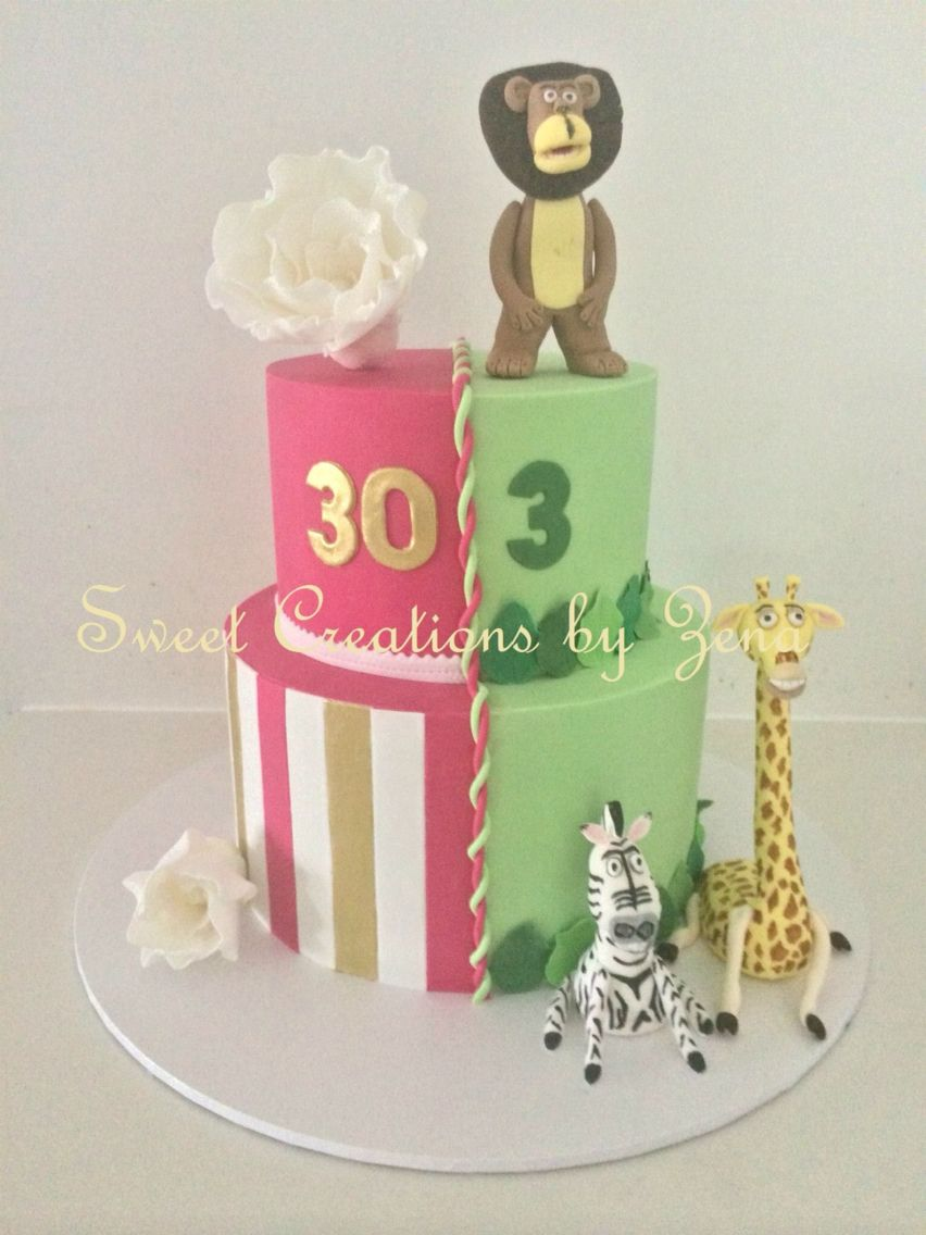 Joint Birthday Cake Duo Cakes Pinterest Birthday Cakes