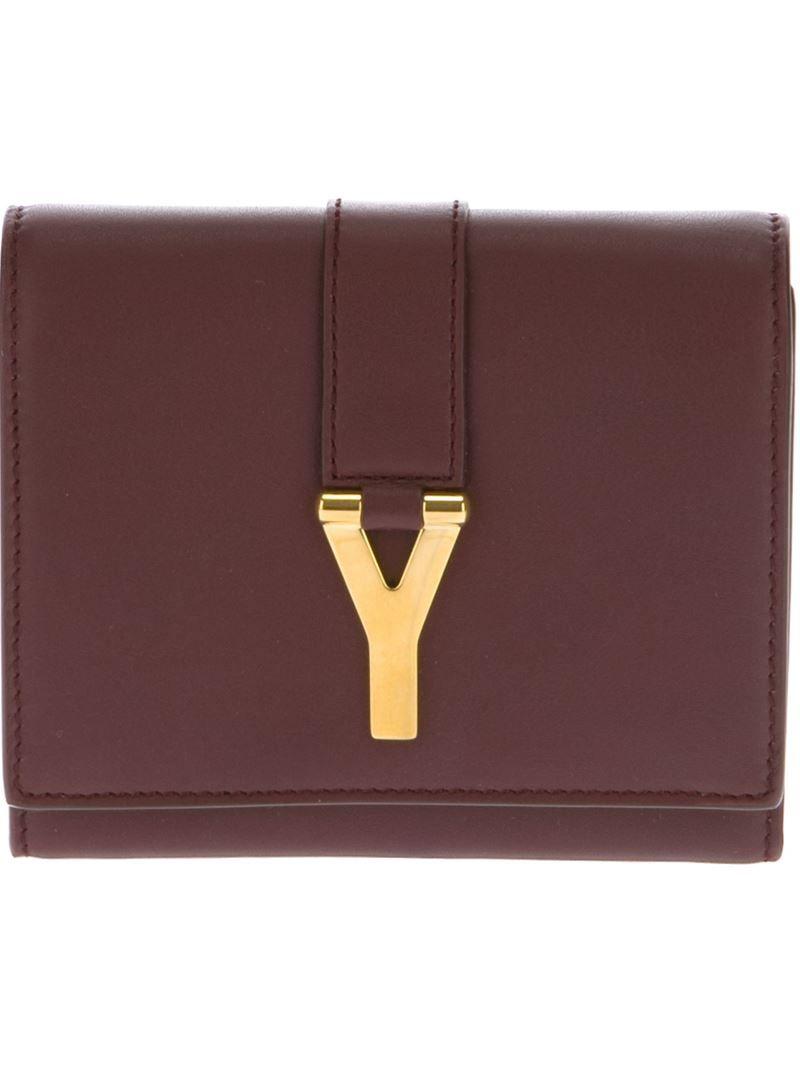 SAINT LAURENT 'Classic Y Cabas' wallet
