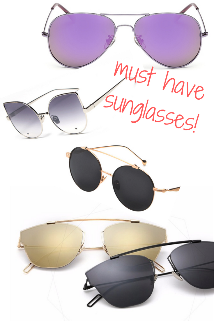 e570e89547dd This seasons must have sunglasses have landed onto your screen! come check  out the hottest styles in every colour you need. Use the code:  NewShades4You for ...