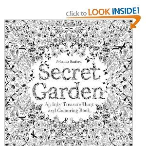 Secret Garden An Inky Treasure Hunt And Colouring Book Amazoncouk
