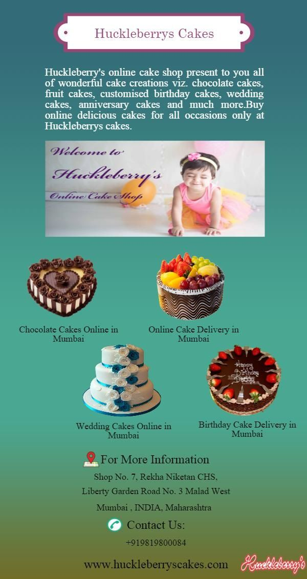 Chocolatecake Delivery In Mumbai Huckleberrys Online Cake