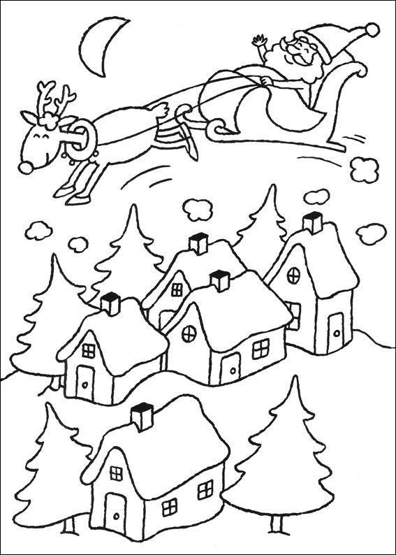 Ausmalbild Weihnachten (mehr): Weihnachten (mehr) | Ausmalbilder ...