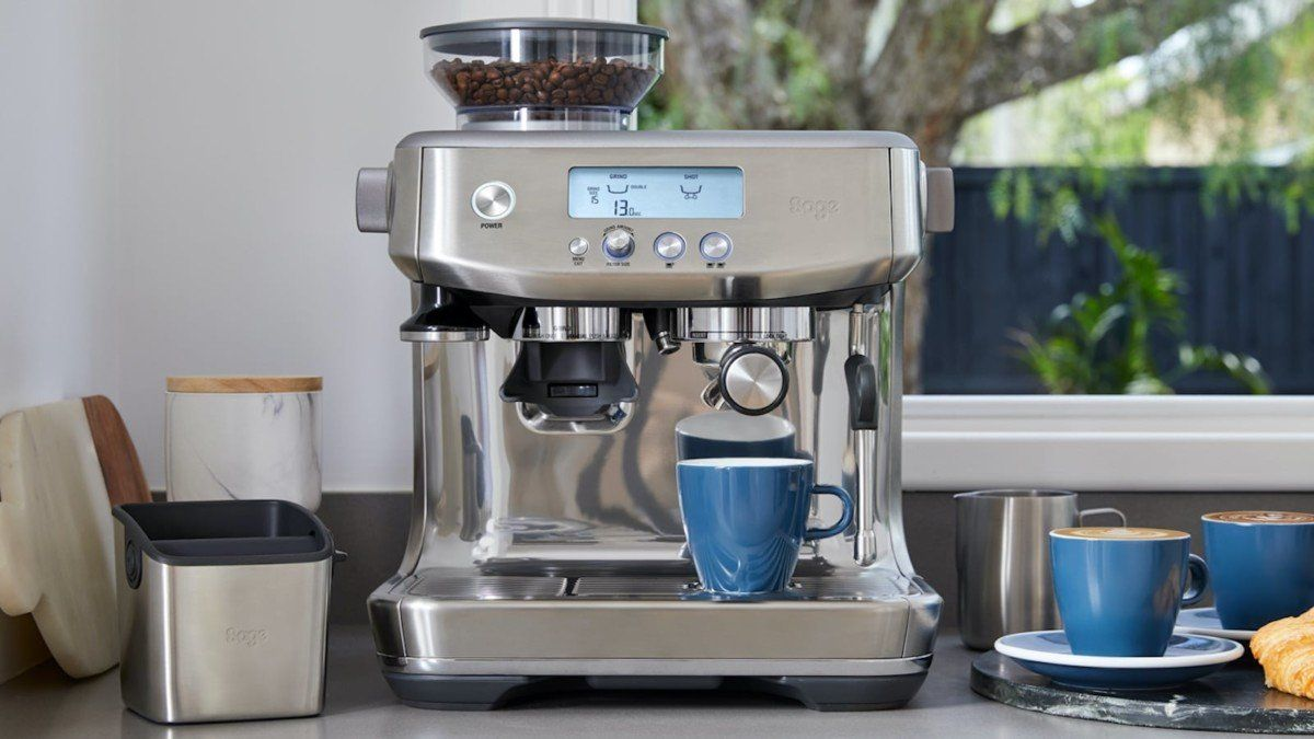 Breville The Barista Pro Espresso Machine Gives You Barista Quality Drinks At Home Espresso Machine Espresso Breville