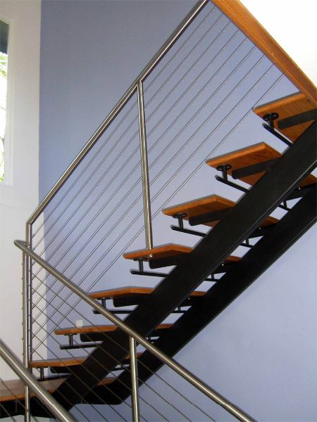 Double Stringer   STS02 | Our Designs | Pinterest | Floating Stairs, Modern  Staircase And Steel Structure