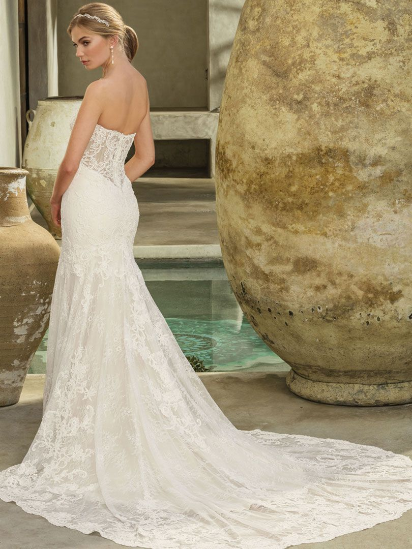 Style 2294 Option 2: Back Panel Removed | Two In One Wedding Gowns ...