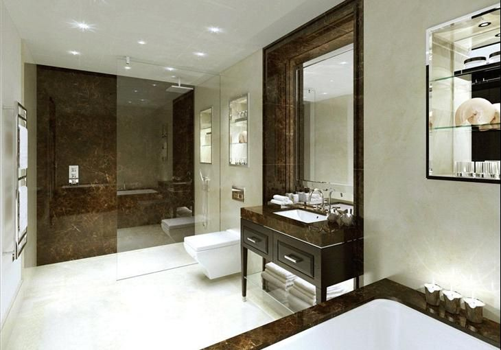Property For Sale 1 7 1 Clement House 190 Strand London Wc2 Knight Frank Classic Bathroom Eclectic Bathroom Bathroom Styling