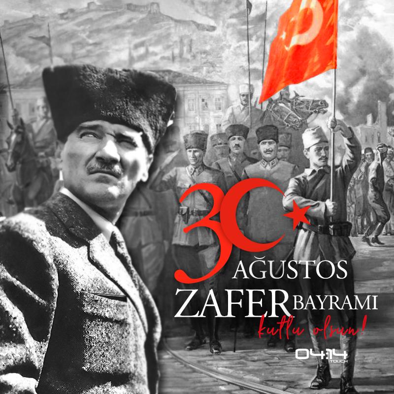 """Zafer, zafer benimdir diyebilenindir."""" Mustafa Kemal Atatürk ..."""