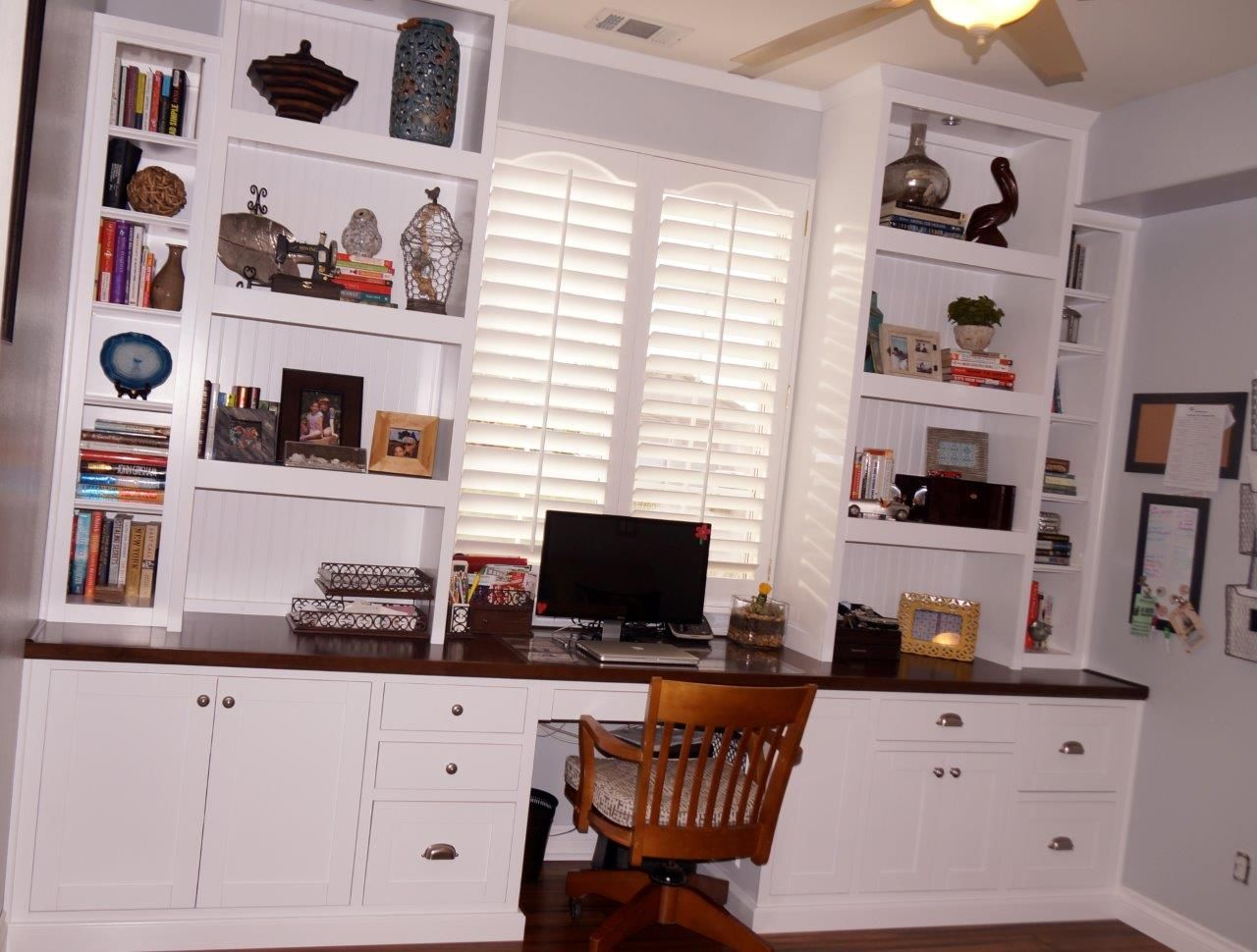 custom home office cabinets. Cabinets For Home Office. Custom Office And Built In Desk I