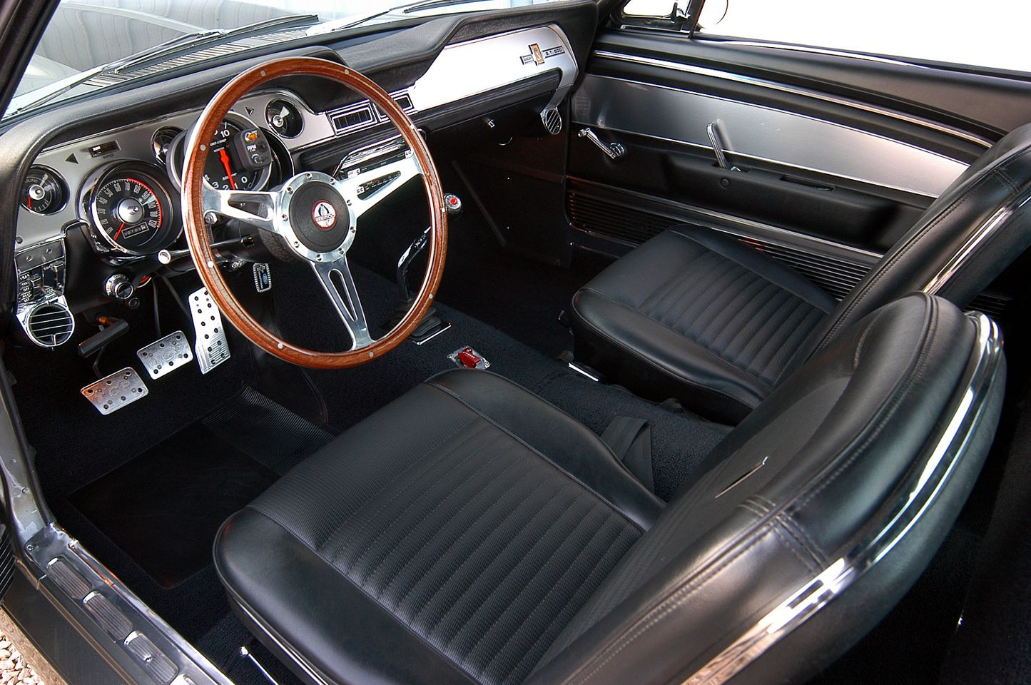 1967 shelby gt500 interior ford mustang