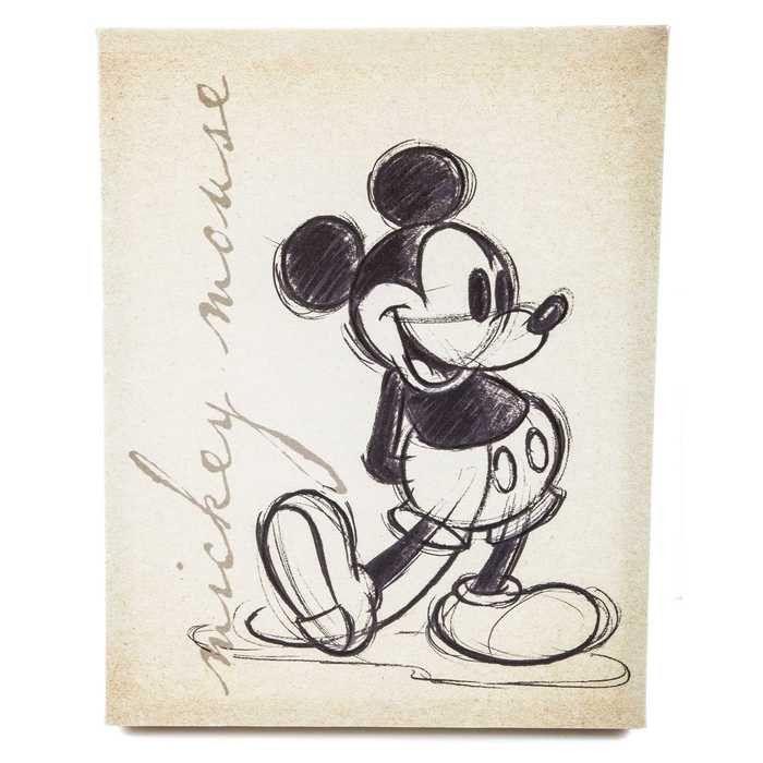 Tan Vintage Mickey Mou...