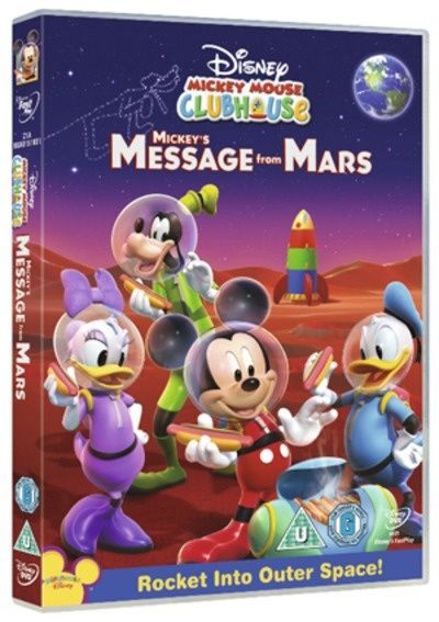 Mickey Mouse Clubhouse: Mickey's Message from Mars Region ...