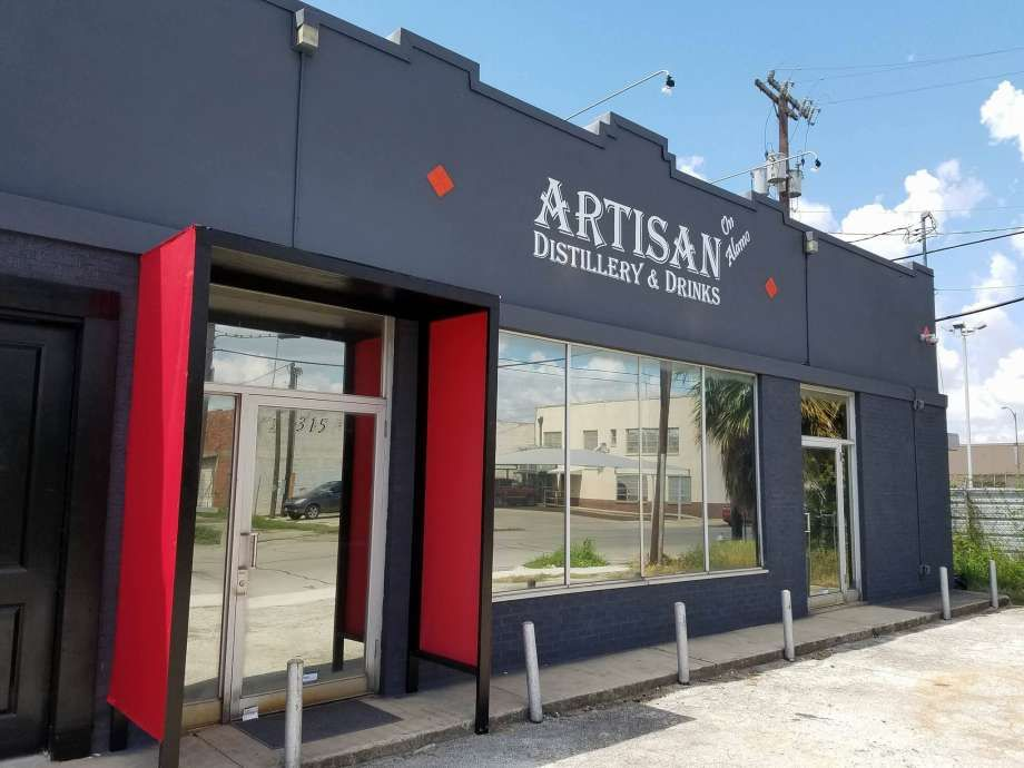 """Nick Spink's Artisan Distillery and Drinks, at 315 8th St., features a """"craft…"""