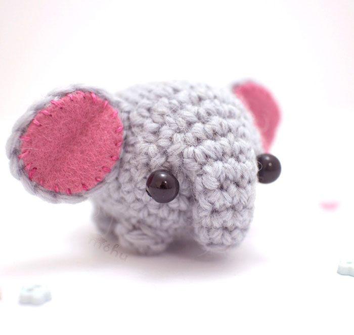 Animales de ganchillo en miniatura, por Mohustore | calcetines ...