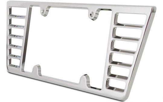 Billet Aluminum License Plate Frame For C6 And C7 Stingray Corvette Corvette Stingray License Plate Frames Billet Aluminum
