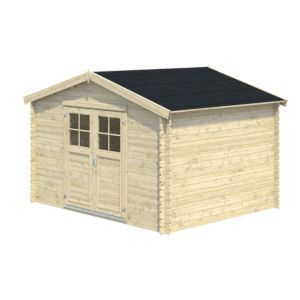 11x9 Belaia Apex Roof Tongue Groove Wooden Shed With Floor