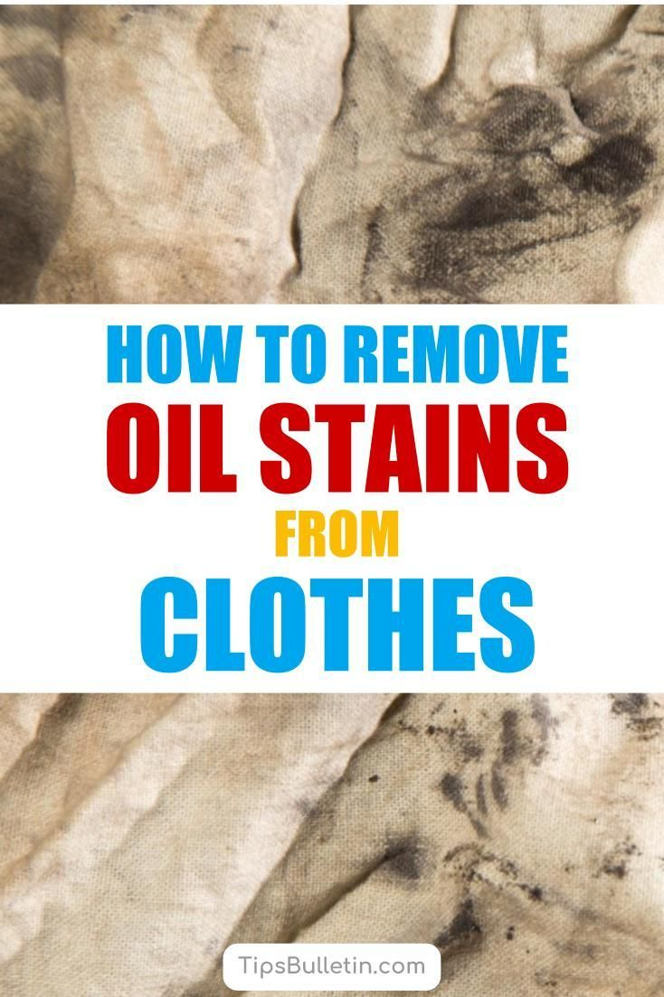 Using Simple Everyday Products Like Baking Soda Rubbing Alcohol And Vinegar You Can Remove Oil Stains From Your