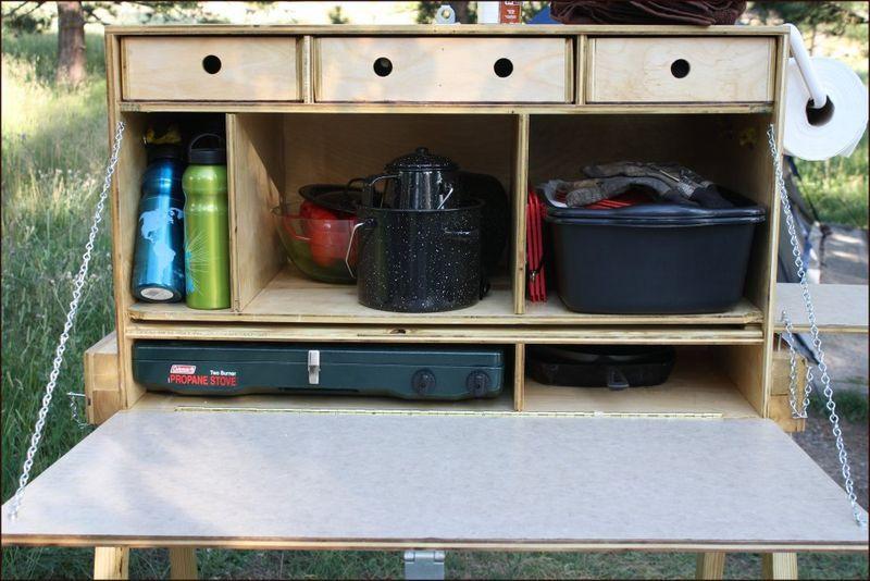 die besten 25 chuck box ideen auf pinterest camping box. Black Bedroom Furniture Sets. Home Design Ideas
