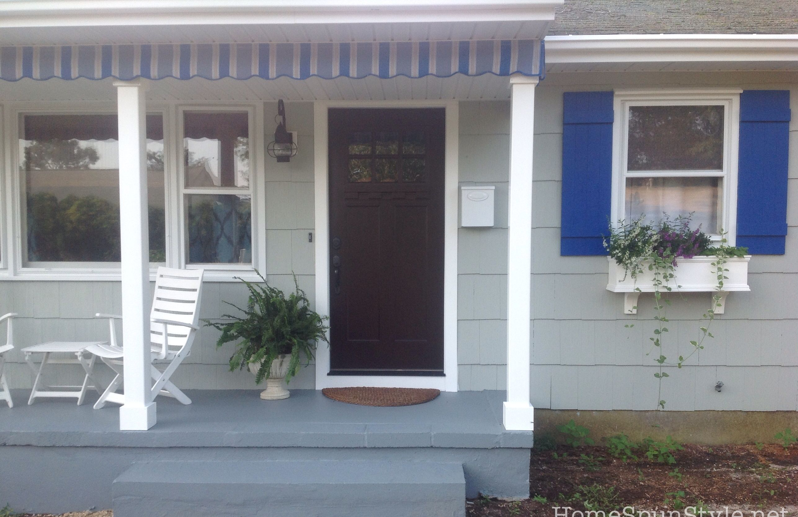 Diy Porch Valance Diy Porch Porch Valance Outdoor Decor