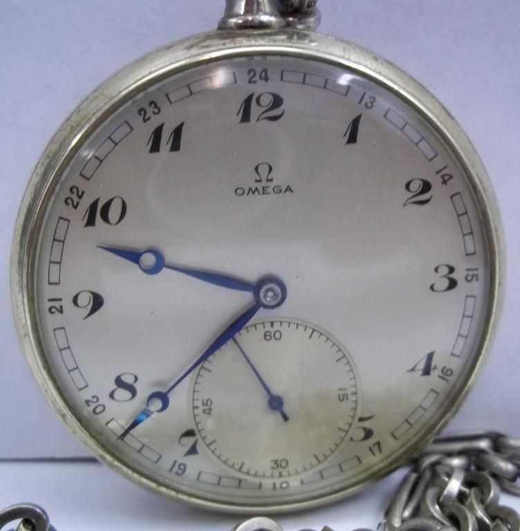 1900 s Men s Omega Pocket Watch-RARE  a6c47da719
