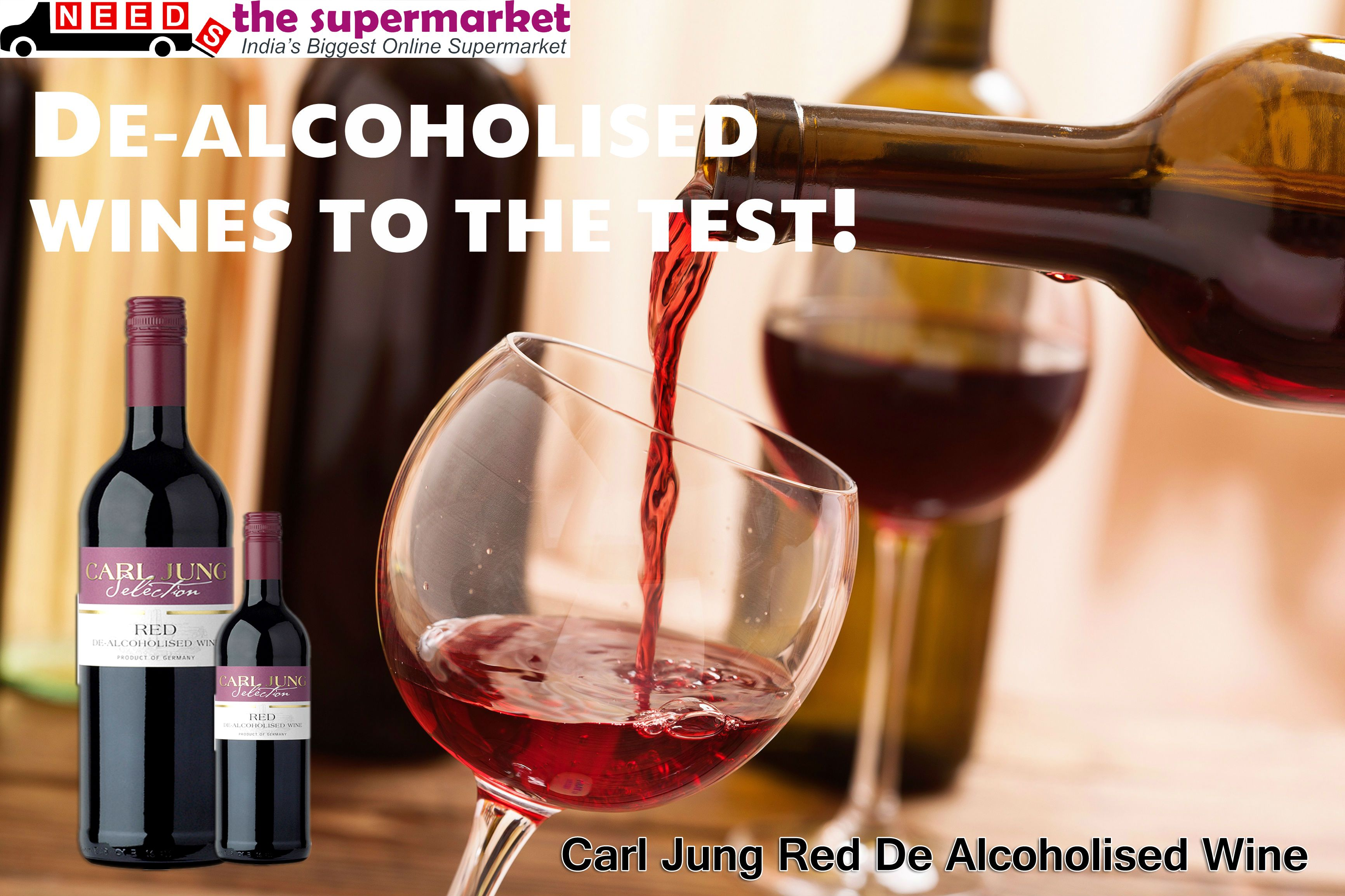 Buynow Carl Jung Red De Alcoholised Wine Online At Best Price 525 00 On Needsthesupermarket An Online Grocery Store Supermarket Online Grocery Shopping
