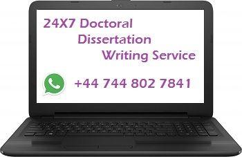 Phd dissertation help usa