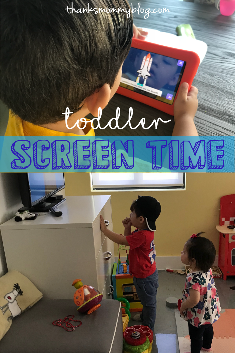 Toddler Screen Time (With images) | Parenting toddlers ...