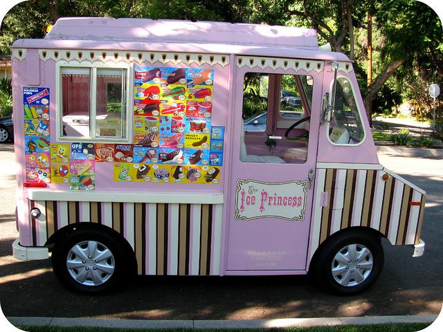 The Ice Princess With Images Ice Cream Truck Ice Cream Van